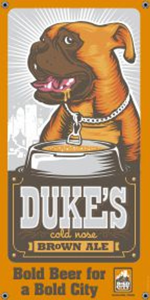 "Bold City Brewery 18.5"" X 36"" Dukes Banner"