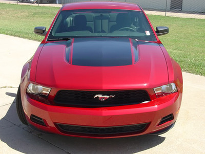 Hood graphic shown installed with Mustang Dominator Kit (sold separatey)