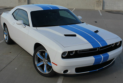 2015-2017 Challenge Rally Racing Stripes for Dodge Challenger