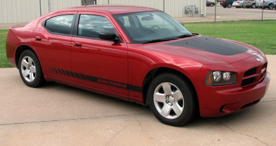 stripeman.com 2006-2010 Dodge Charger Chargin' 4 & 5 Graphic Kit