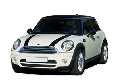 2006 - 2018 Mini Cooper S-Type Hood Stripe Kit by Stripeman.com