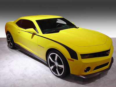 2014-2015 Chevrolet Camaro Throwback Hockey Stripe Kit