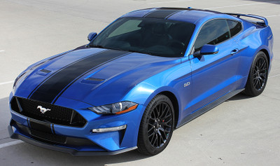 2018 -2019 Ford Mustang Hyper Rally Racing Stripe Kit