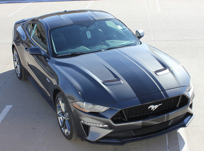 2018-2019 Ford Mustang Euro XL Rally Racing Stripe Kit