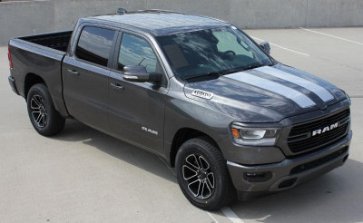 2019 Dodge Ram Ram Rally Graphic Kit Front View