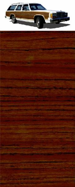 CS Mahogany Digital Reproduction Wood Grain Vinyl