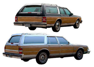 Wood Trim kit for your Buick Estate Wagon or your Chevrolet Estate Wagon by Stripeman.com