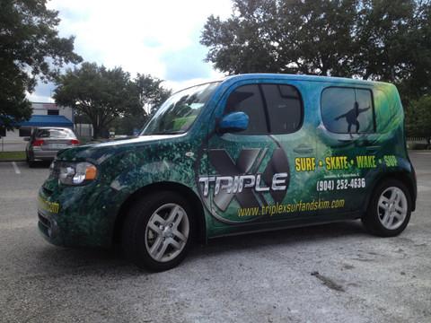 Stripeman Can Design Vehicle Wraps In Jacksonville