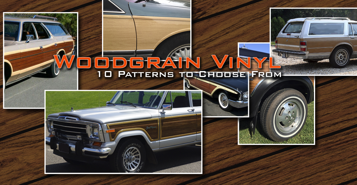 Woodgrain Vinyl for Cars