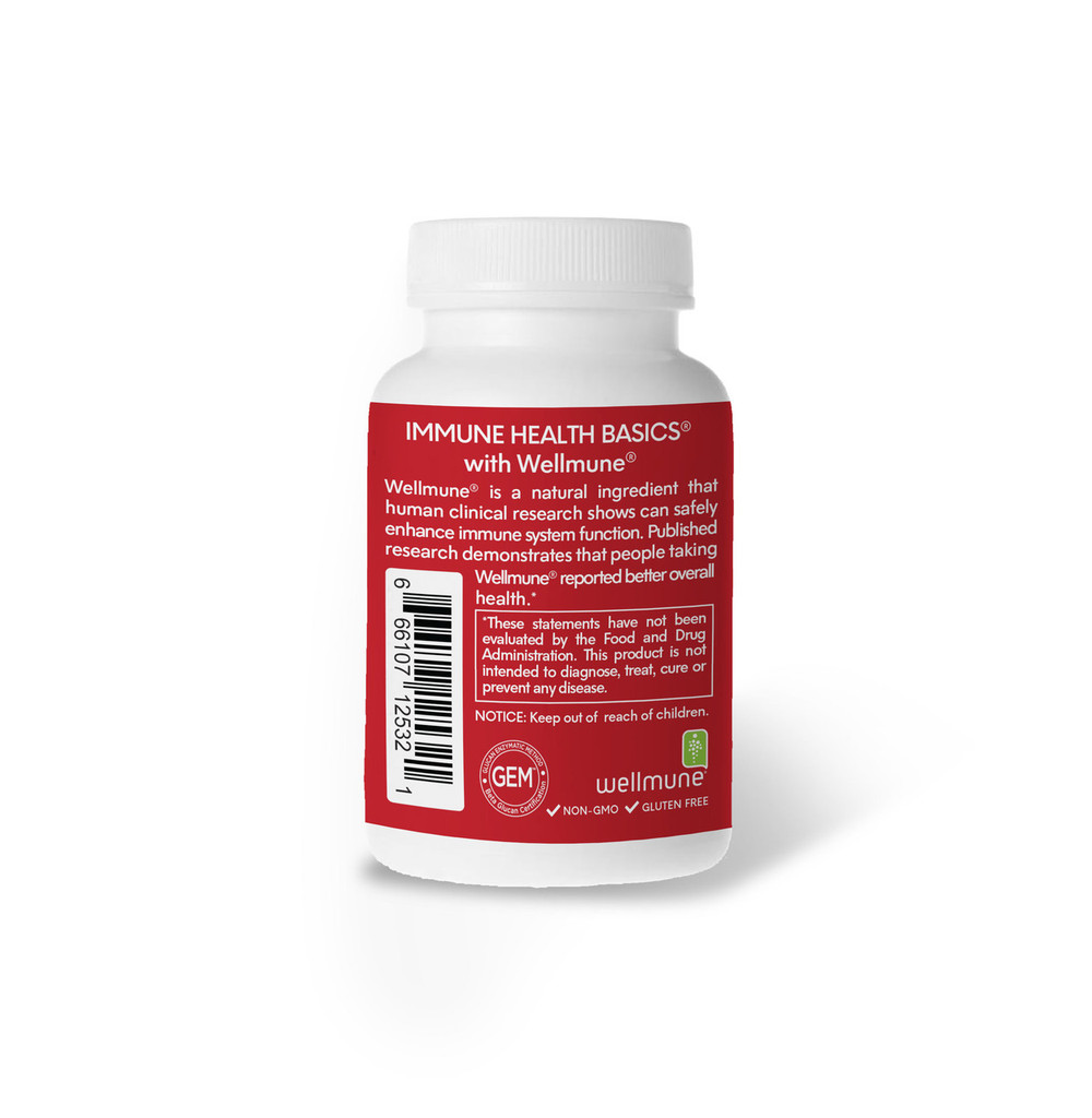 Immune Health Basics 250mg /30 capsules