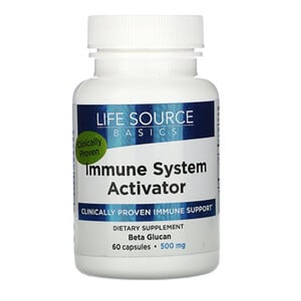 Life Source Basics - Immune System Activator 500 mg /60 capsules