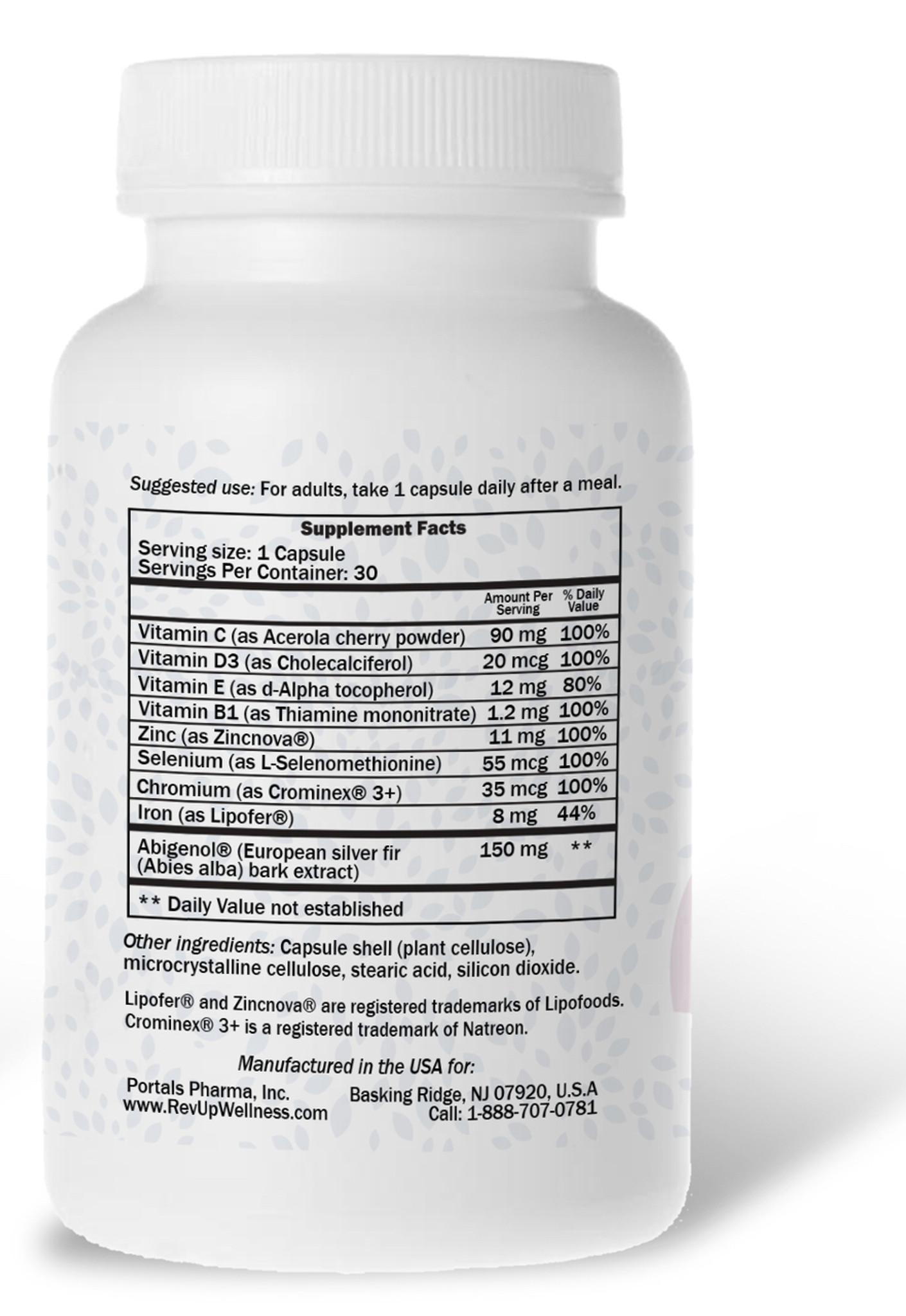 Natural Energy Supplements - Rev•Up Wellness® ENDURANCE