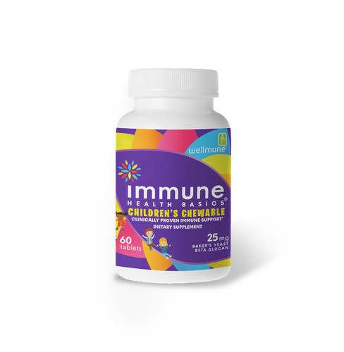 Immune Health Basics Children's Chewable 25 mg / 60 capsules