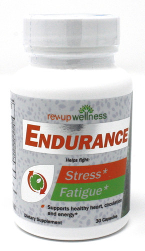 Natural Energy Supplements - Rev•Up Wellness® ENDURANCE / 30 capsules