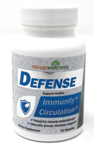Immune Support Supplement - Rev•Up Wellness® DEFENSE / 30 capsules