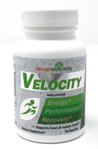 Energy Boost Supplement - Rev•Up Wellness® VELOCITY / 30 capsules