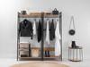 Porto Full Length Hanger - Black