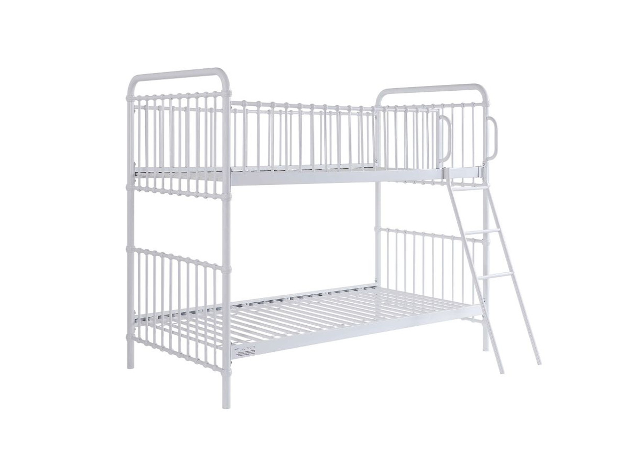 Picture of: Mocka Sonata Bunk Bed White Kids Bunks Beds