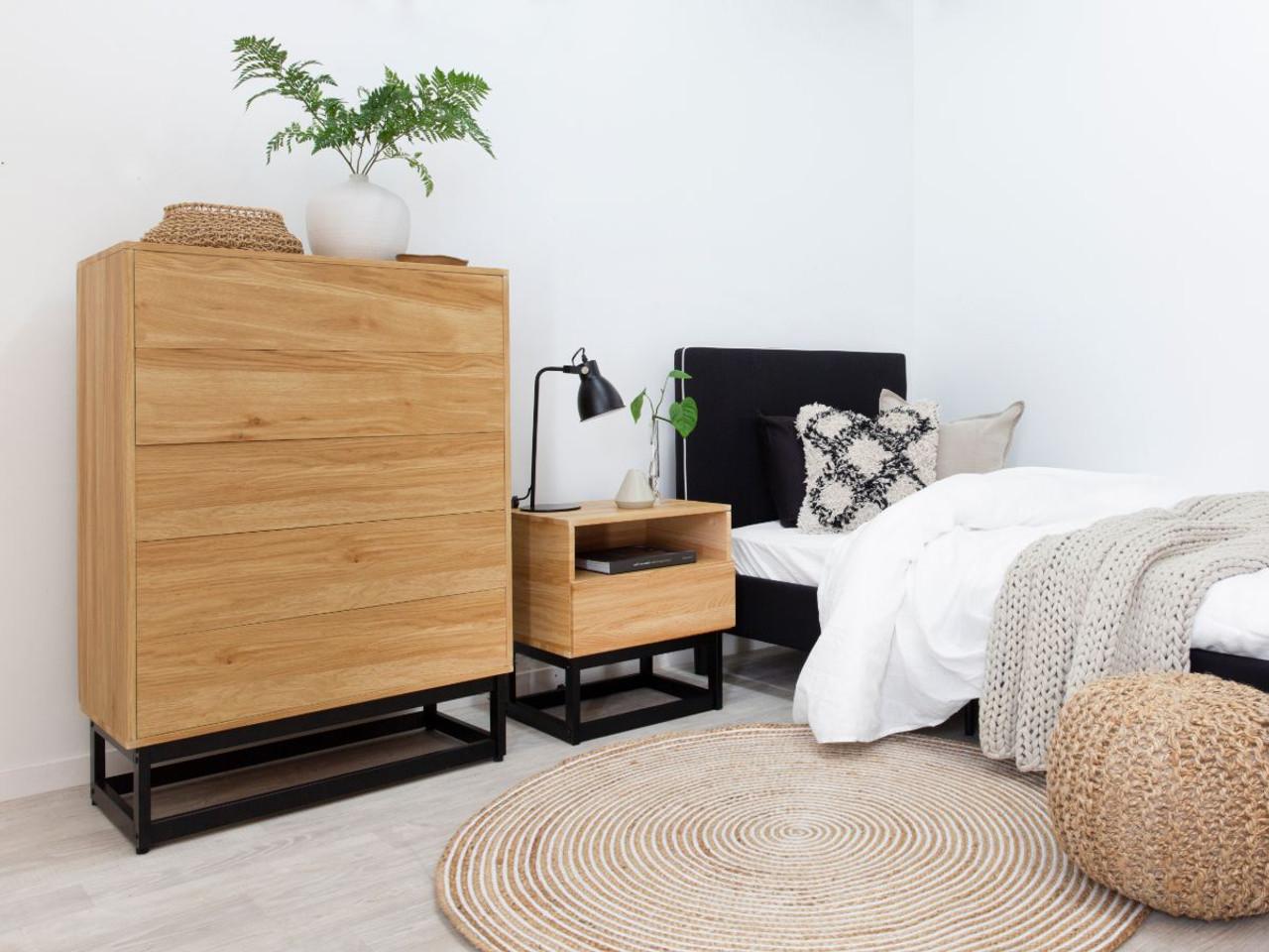 Urban Bedside Table Bedroom Furniture Mocka Au