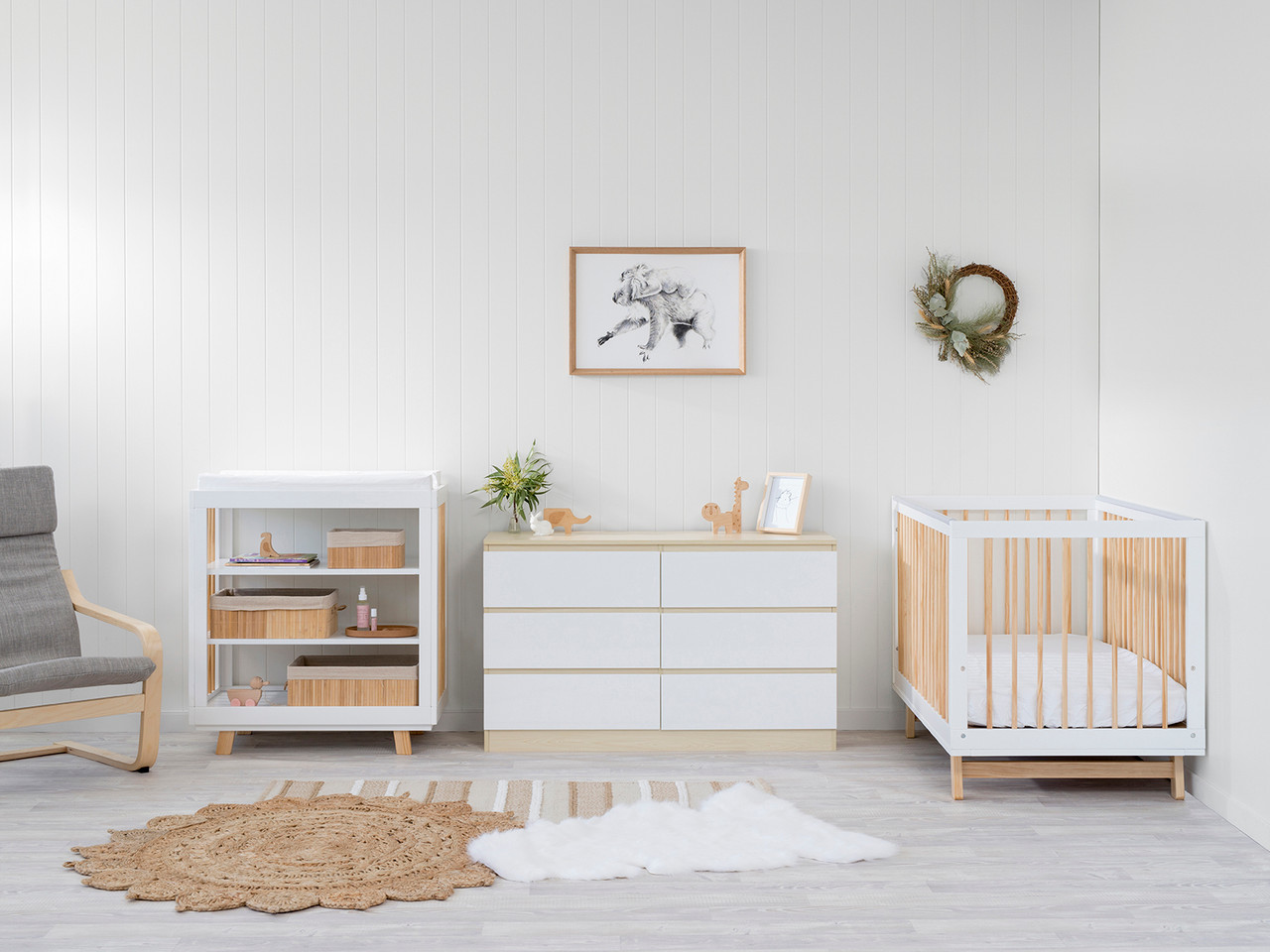 Mocka Nursery Furniture Package