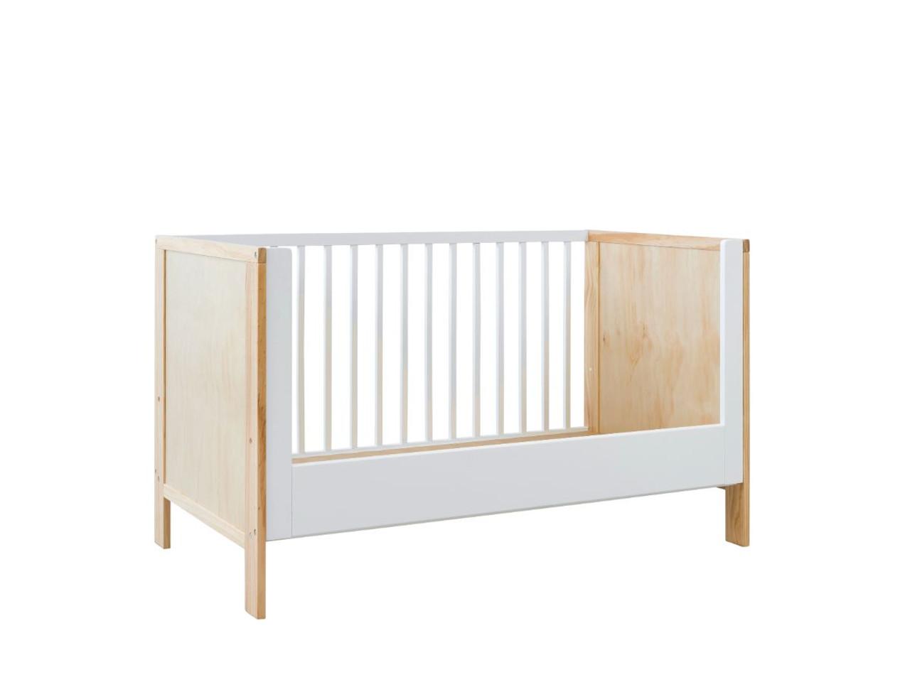 Mocka Aspiring Cot Toddler Bed Conversion White Children S Furniture