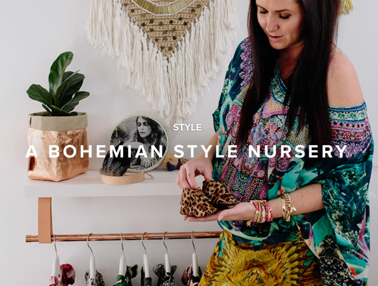 A Bohemian Style Nursery