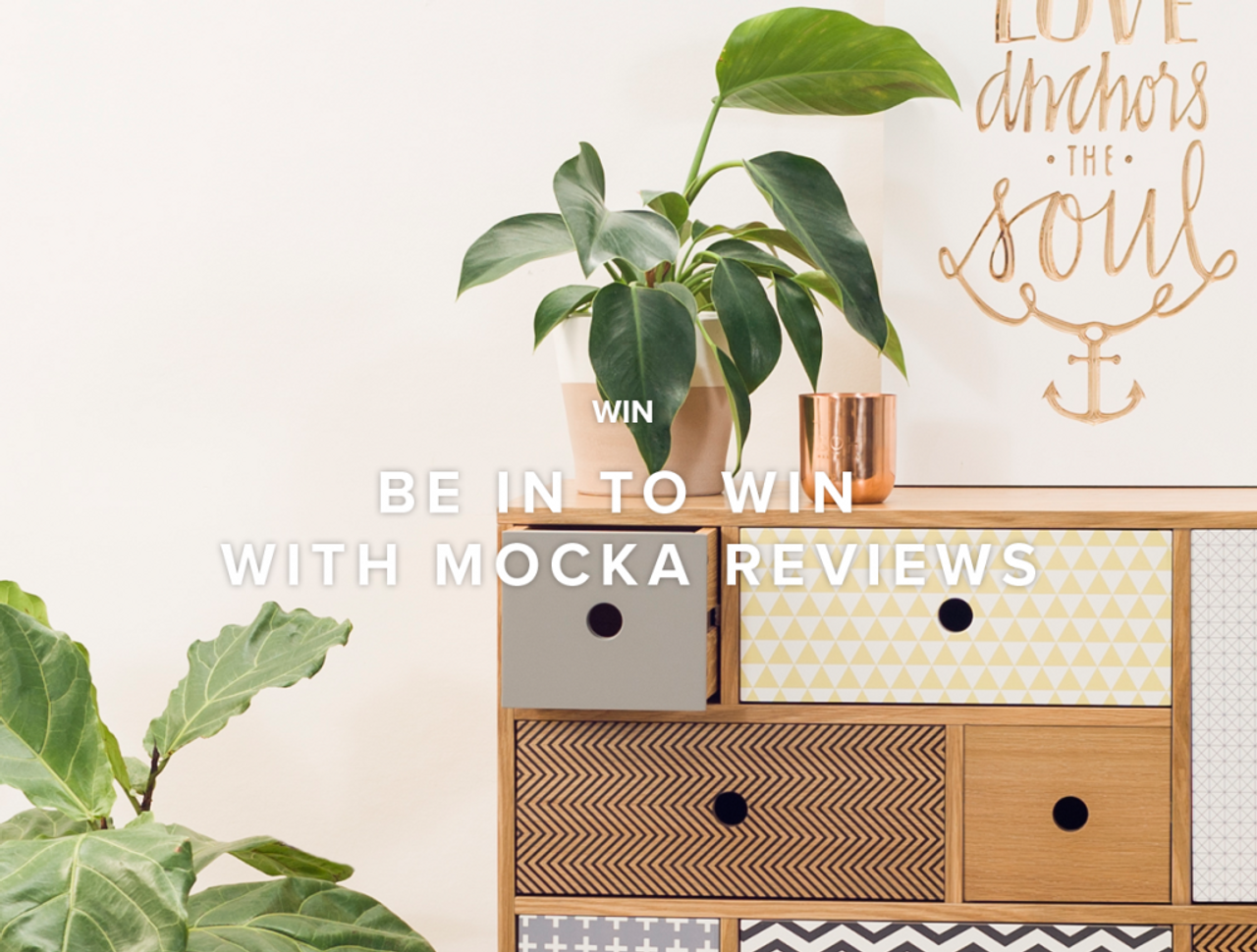 Be in to win with Mocka Reviews