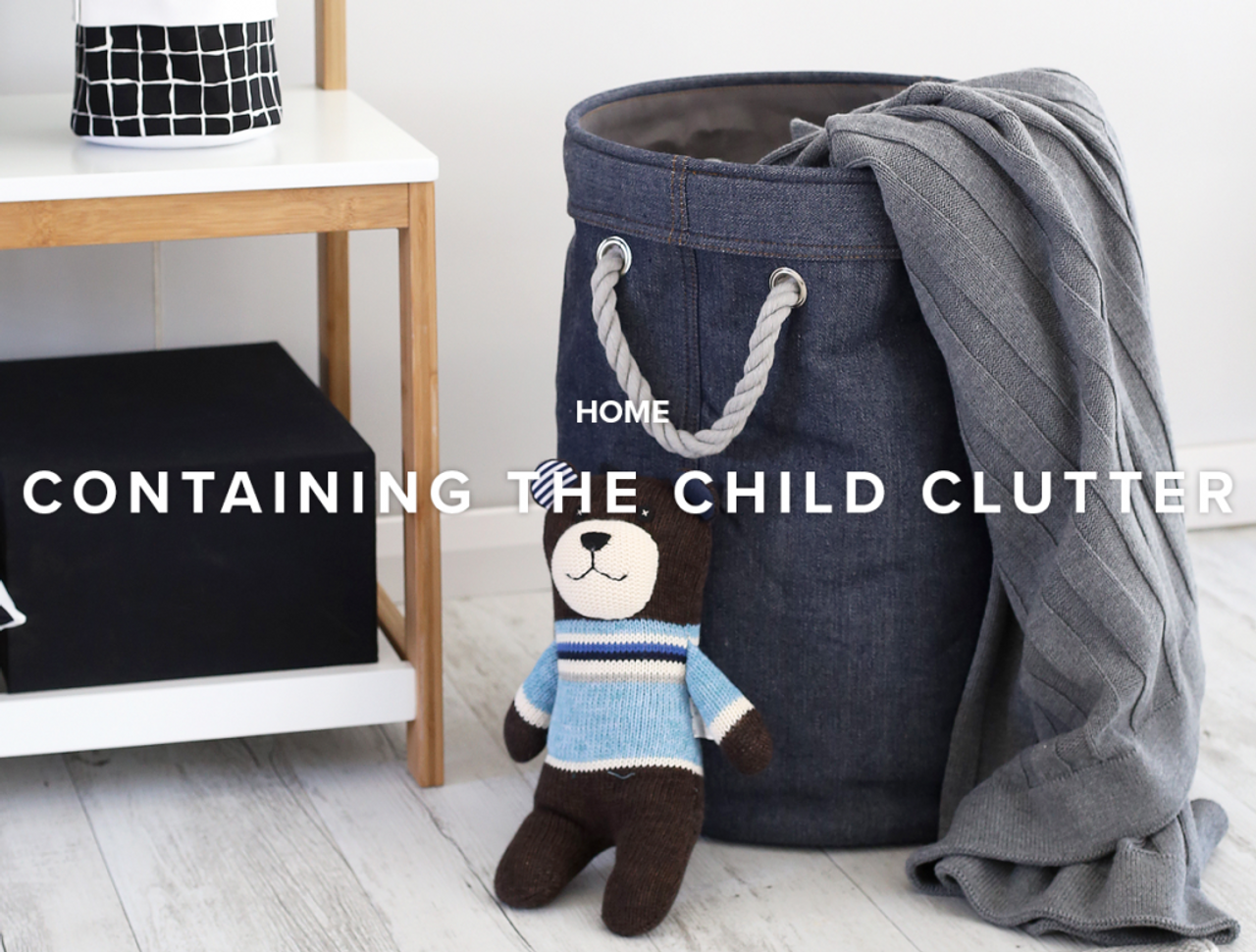 Containing the Child Clutter