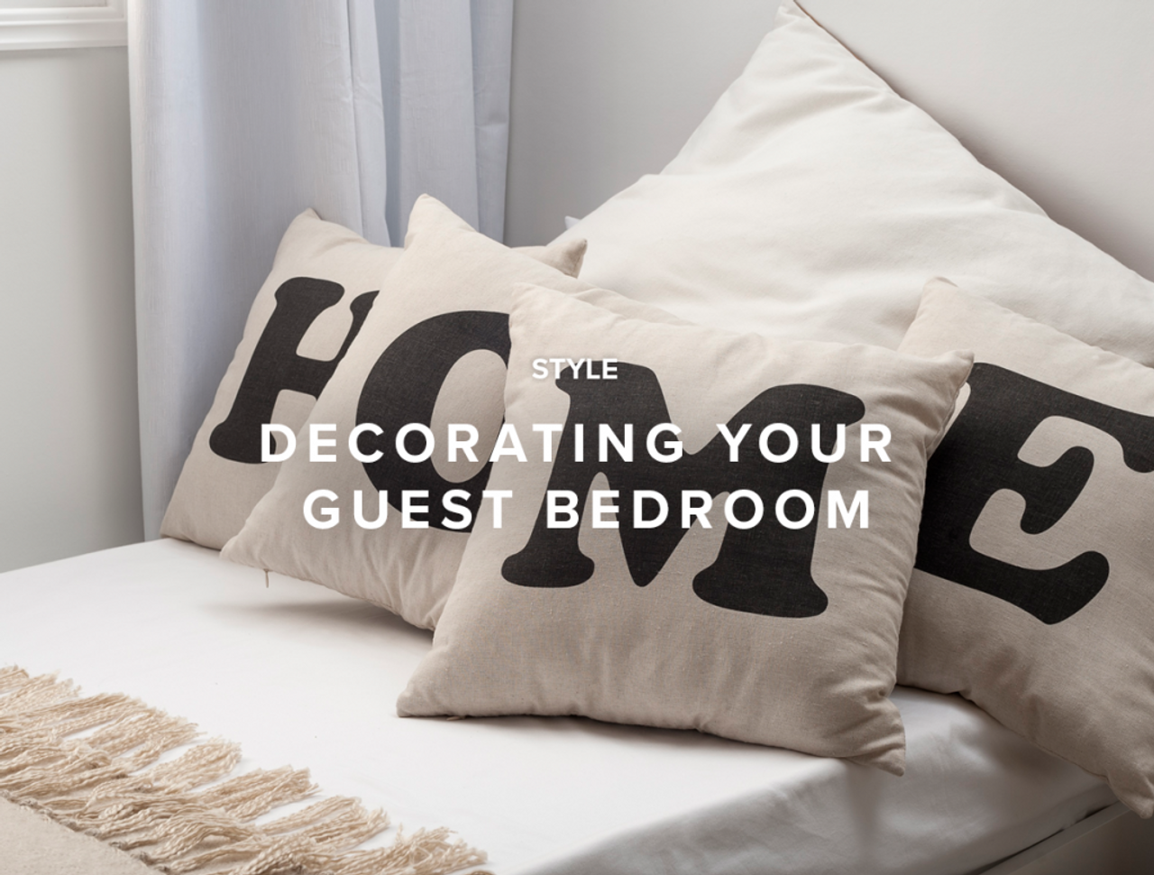Decorating your Guest Bedroom