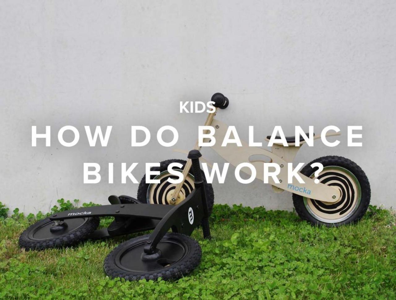 How Do Balance Bikes Work