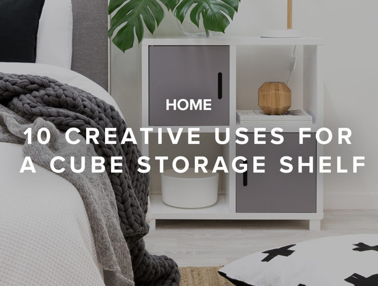 10 Creative Uses for A Cube Storage Shelf