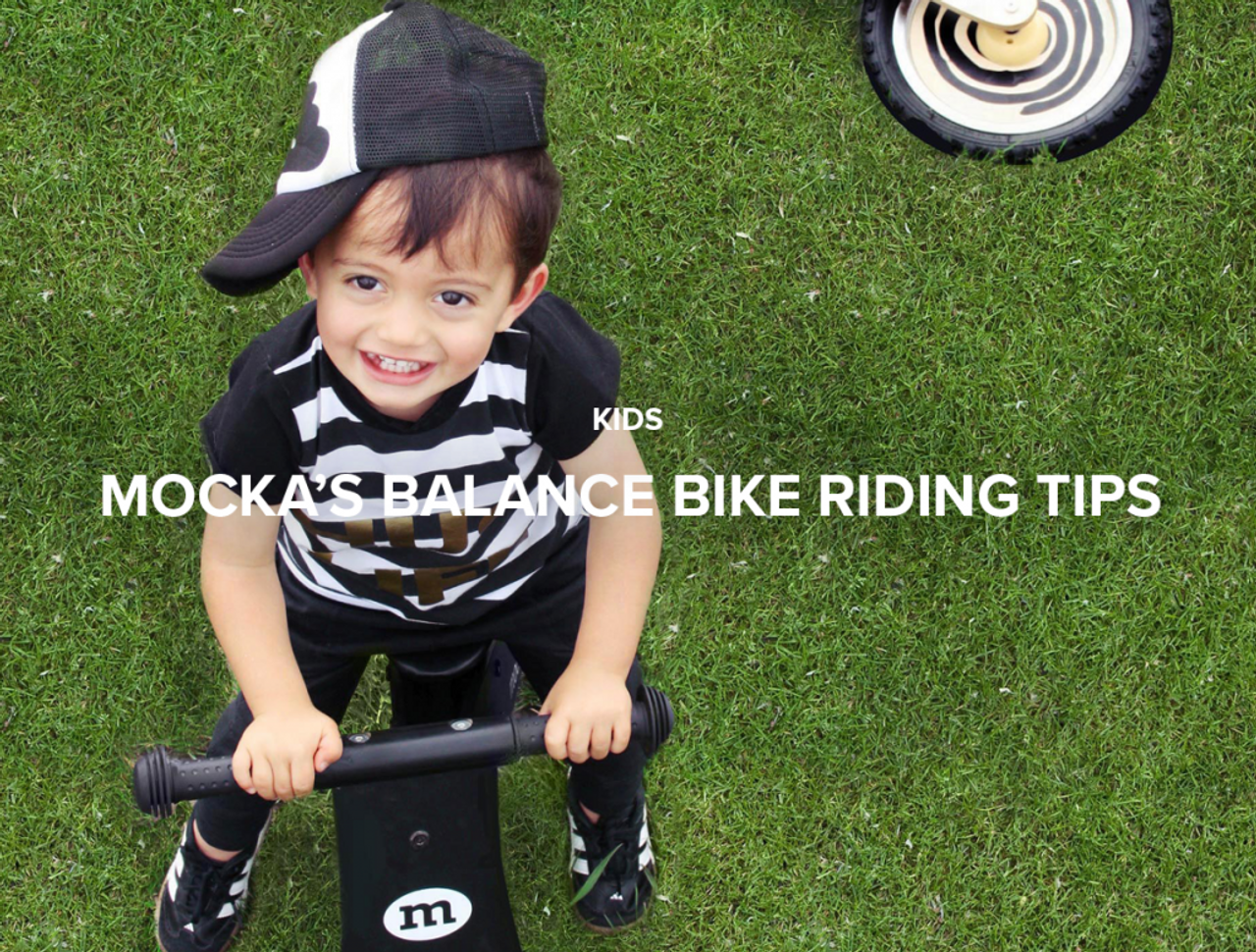 Mocka's Balance Bike Riding Tips