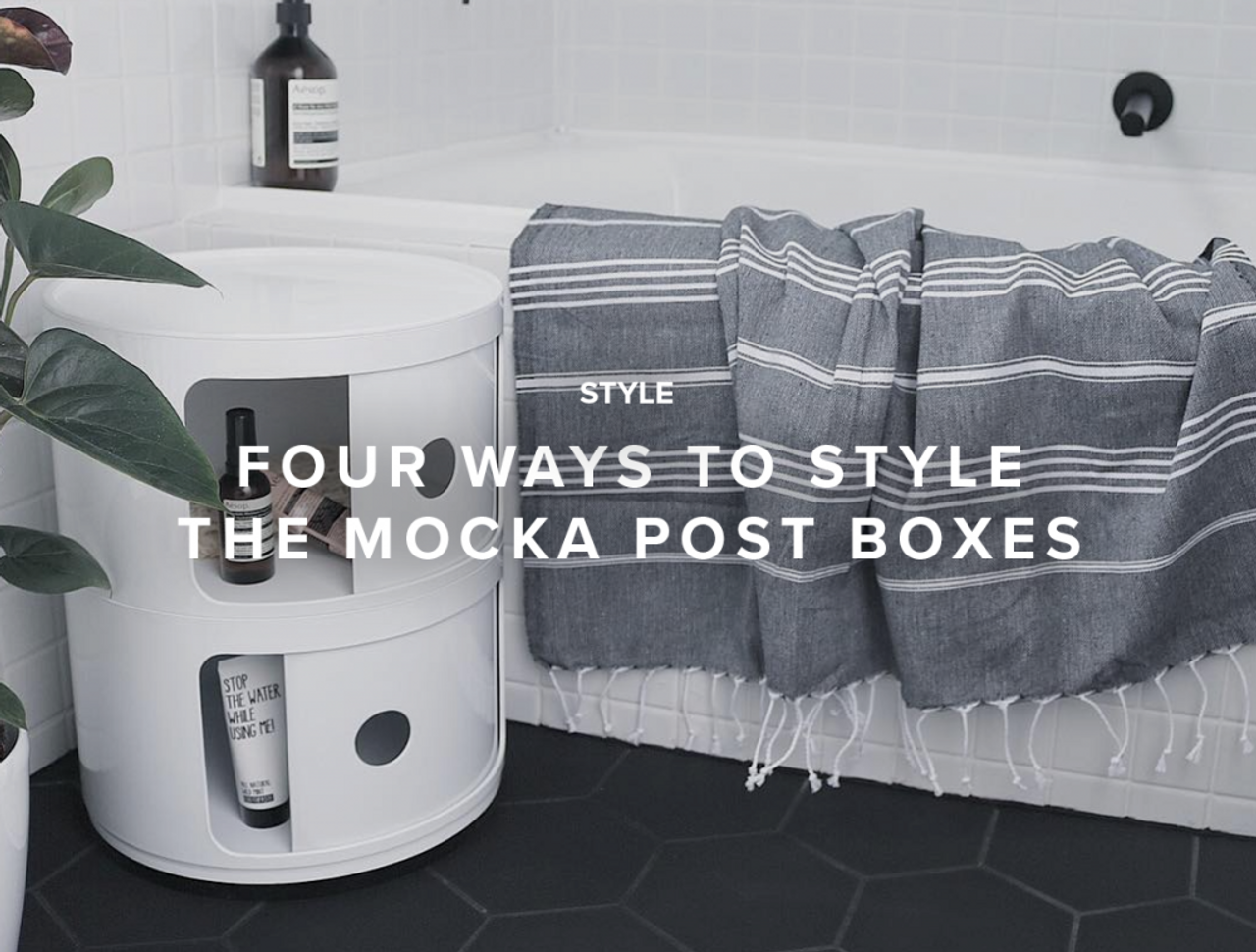 Four Ways to Style the Mocka Postboxes