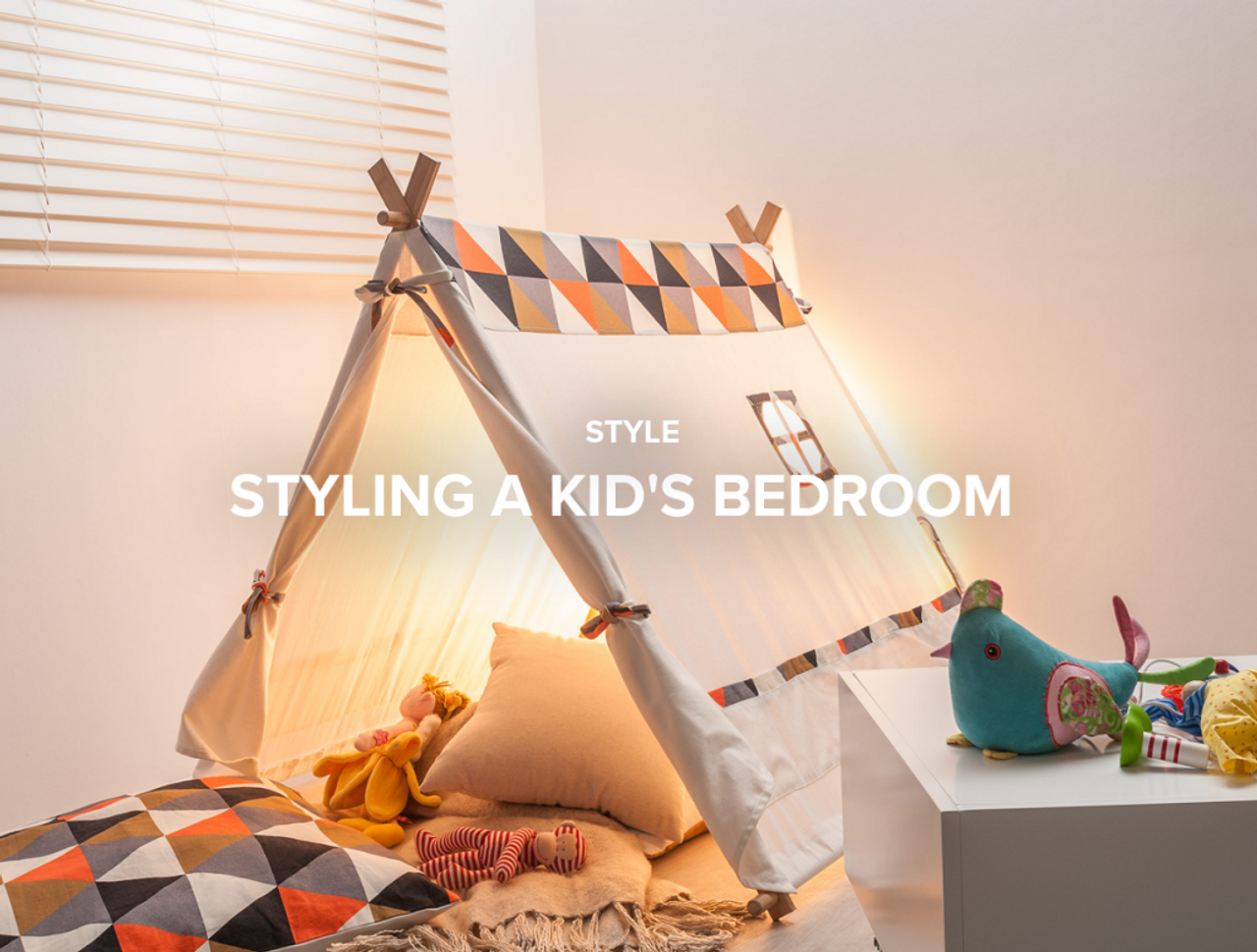 Styling a Kid's Bedroom