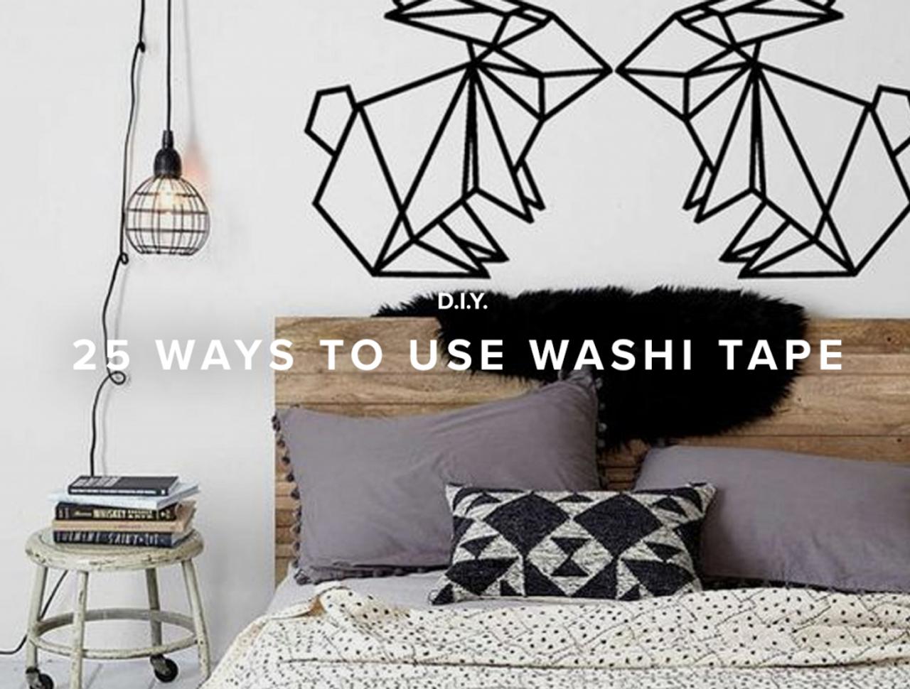 25 Ways to use Washi Tape