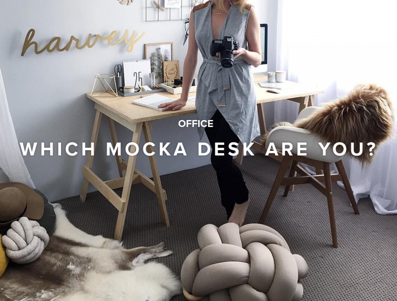 Which Mocka Desk Are You?