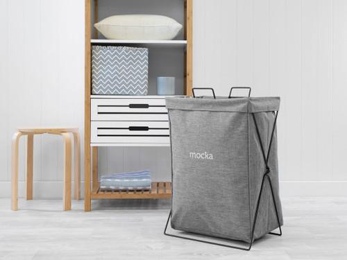 Mocka Laundry Hamper - Grey