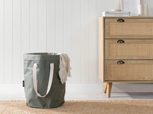 Etta Laundry Hamper - Khaki