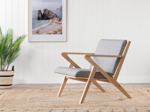 Armadale Chair - Light Grey