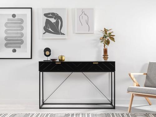 Inca Console Table - Black