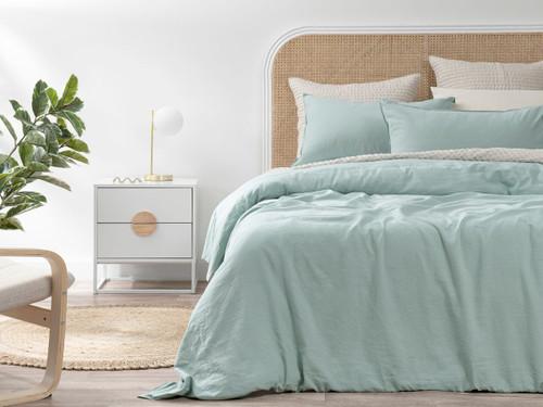 Briley Linen Cotton Quilt Cover Set - Queen