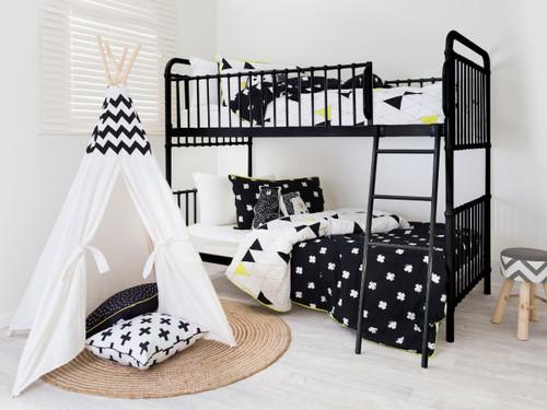 Sonata Bunk Bed - Black