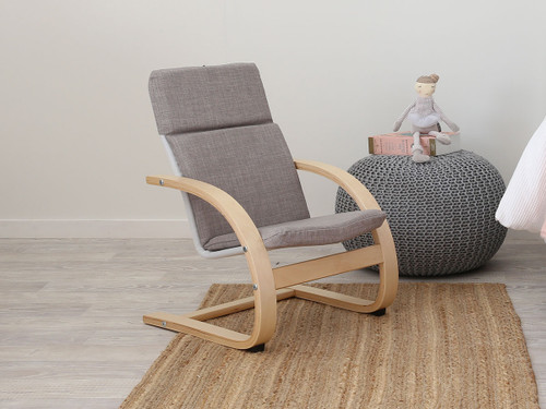 Kids Relax Armchair - Grey