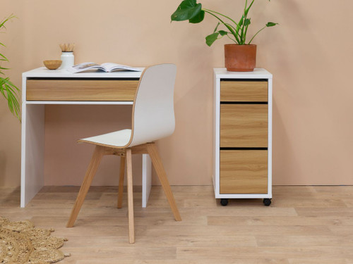 Jordi Drawers - White / Natural