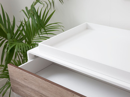 Changing Tray - White