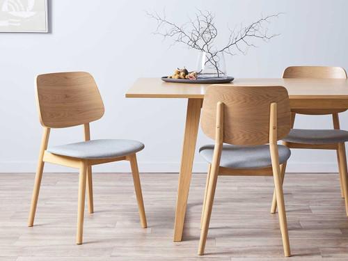 Livi Dining Chair - Light Grey