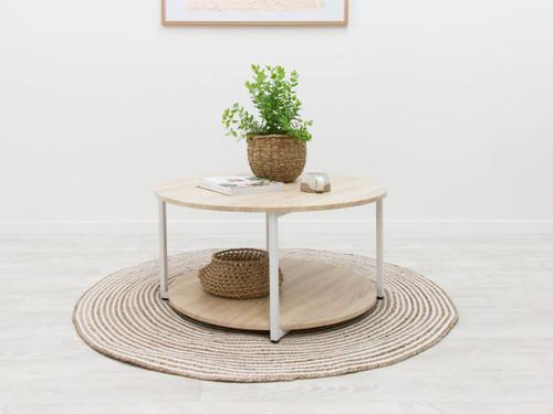 Vigo Coffee Table - White