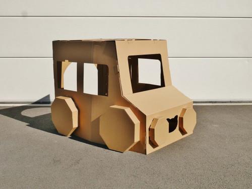 Cardboard Play and Colour - Car