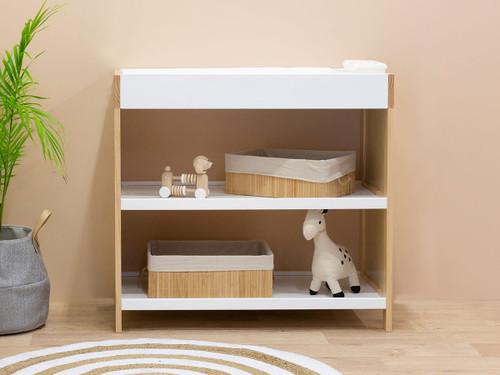 Aspiring Change Table - White/Natural