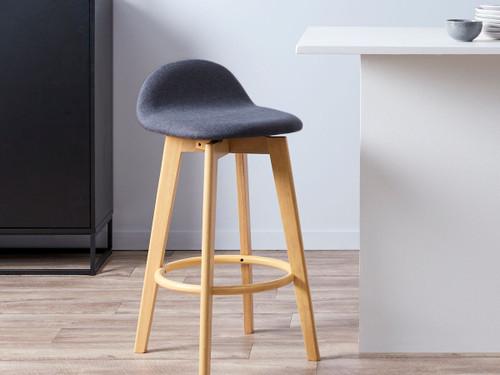 Livi Bar Seat - Charcoal